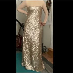Custom Made Sequin Gown